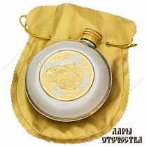 купить Фляга украшенная малая Сокол в Санкт-Петербурге